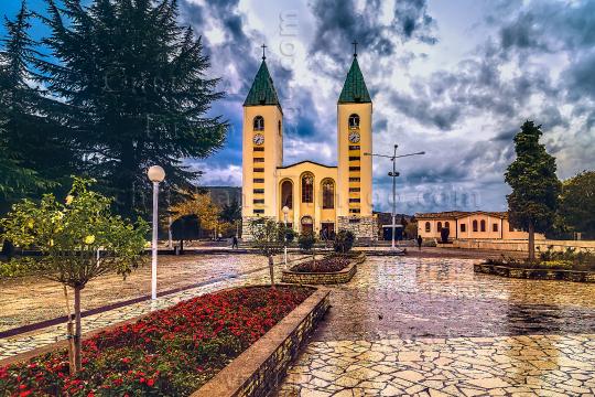 Parish Church in Medugorje